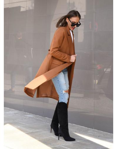 Płaszcz Marina camel