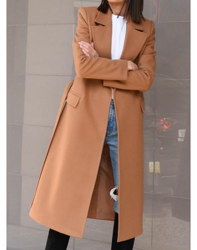 Płaszcz Marina camelowy beż