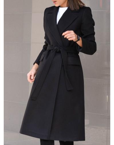 Płaszcz Marina czarny